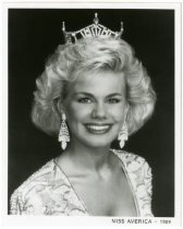 Image of Miss America Gretchen Carlson, MN, 1989