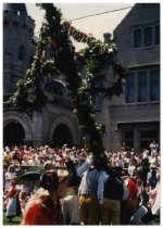 Image of Midsummer maypole, 1992