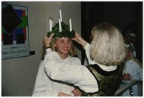 Image of Crowning the Lucia at ASI, 1993