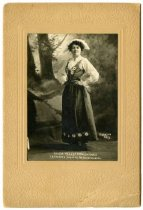 Image of Swedish folk dancer Hilda Gagne, Mpls MN 1910
