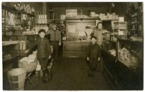 Image of interior, Olaf Lenander's store, Mpls. 1915?