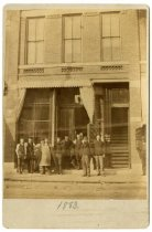 Image of Nilsson Bros. cigar store, St. Paul, 1883