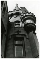 Image of Mansion turret, ca. 1980.