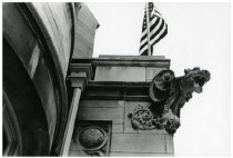Image of Gargoyle on the mansion, ca. 1980.