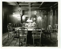 Image of Dining room, Gust Carlson home, Duluth MN 1940?
