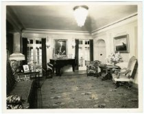 Image of Living room, Gust Carlson home, Duluth MN 1940?