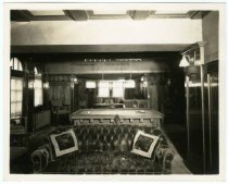 Image of Billiard room, Gust Carlson home, Duluth MN 1940?