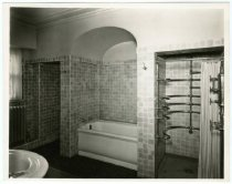 Image of Bathroom, Gust Carlson home, Duluth MN 1940?
