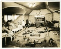 Image of Child's play room, Gust Carlson home, Duluth MN 1940?