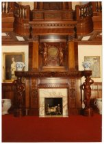 Image of Fireplace, grand hall, 1990?