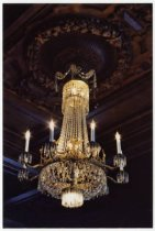 Image of Chandelier, dining room, 2001
