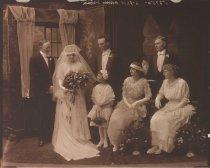 Image of Wedding of Oscar E. Alm Sr. to Margaret Storland, St. Paul, 1915