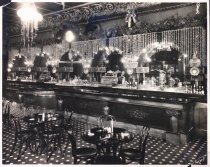 Image of Inside Axel's Lunch Room, undated