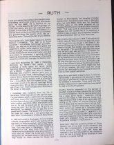 """Image of P1 of """"On Three Continents,"""" Ruth Nelson Johnson's family history, undated"""