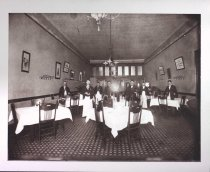 Image of Waiters at Axel's Lunch Room, undated