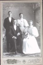 Image of Axel Anderson (back left), undated