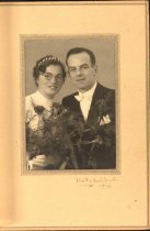 Image of Unidentified couple's photograph, 1941