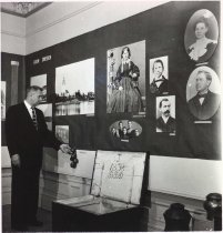Image of Scandinavian Roots of our State exhibit, Olof Anderson family, ASI, 1958
