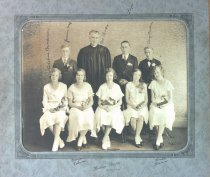 Image of Confirmation class, Hudson, WI, undated