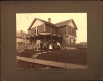 Image of Residence of Mr. & Mrs. A. P. Lindstrom, Hennepin Ave, Winthrop, MN