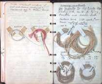 Image of Page from Hilma's notes on weaving, 1941