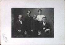 Image of Swen, Tilda, Emil, Hilma, & Raymond Berglund, 1907