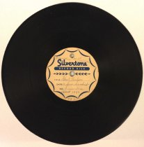 Image of Gust Carlson record, a few Swedish numbers, 1942?