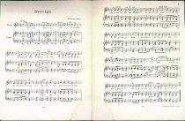 Image of Swedish sheet music