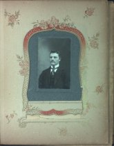 Image of Page from family photo album, undated
