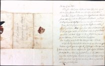 Image of Letter from Johannes Danielson, Eke, Sweden, to Carl Johannesson (Ekdahl)
