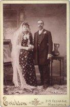 """Image of """"Mr. & Mrs. Nelson, Mrs. Erickson,"""" undated"""