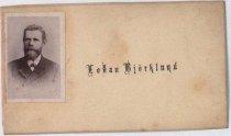 Image of Lolan Bjöklund cartes de visite, undated