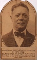 Image of Photo of Knute Ekman, 1923?