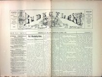 Image of Budkaflen, young adult newspaper, January 1896