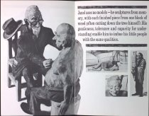 Image of Page from brochure describing Emil's work