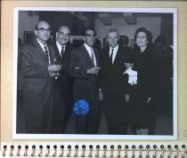 Image of Photo from album for Emil's birthday, 1973