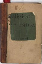 Image of Cover of RELIGION AND THE BIBLE