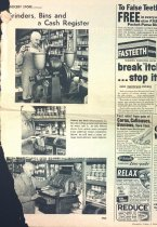 Image of Story about Carl Nelson grocery, Minneaoplis Tribune 1967