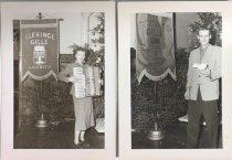 Image of At Blekinge Gille Christmas dinner hosted at ASI, 1950s
