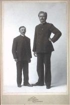 Image of Two members of the Salvation Army, undated