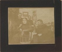 "Image of ""Mathilda Holstein?"" undated (group of Salvation Army members)"