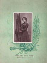 "Image of Funeral poem, Consul Mrs. Booth Tucker, ""Promoted to Glory October 28 1903"""