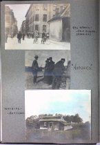 Image of P11 - The wheel trip begins; Hobboes; Wayside Cottages, 1900
