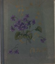 Image of Cover of postcard album