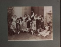 Image of Dancing troupe in Italy, undated