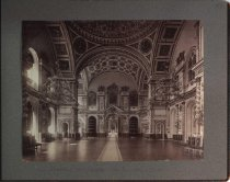 Image of View into throne room, Kremlin Palace, Moscow, Russia, undated