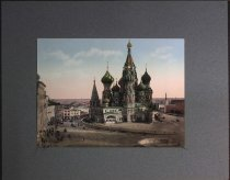 Image of St. Basil Cathedral, Moscow, Russia, undated