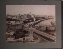 Image of View of Kremlin from Church of our Savior, Moscow, Russica, undated