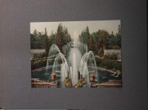 Image of Peterhof fountain, Moscow, Russia, undated