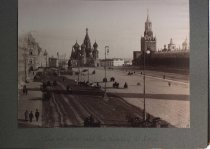 Image of St. Basil's in Red Square, Moscow, Russia, undated